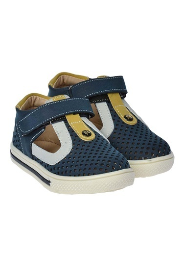 Şirin Bebe Kiko şb 2229-36 Orto pedik Erkek Çocuk Bebe Ayakkabı Sandalet Renkli